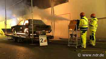 Brandübung im Kanaltunnel Rendsburg - NDR.de