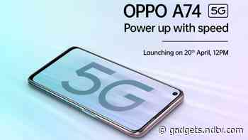 Oppo A74 5G Price in India Confirmed to Be Under Rs. 20,000 Ahead of Official Launch