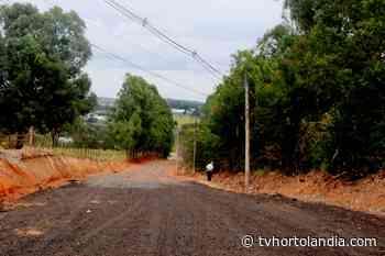 Prefeitura de Monte Mor finaliza obra da Estrada do Magoga - Waldir Junior