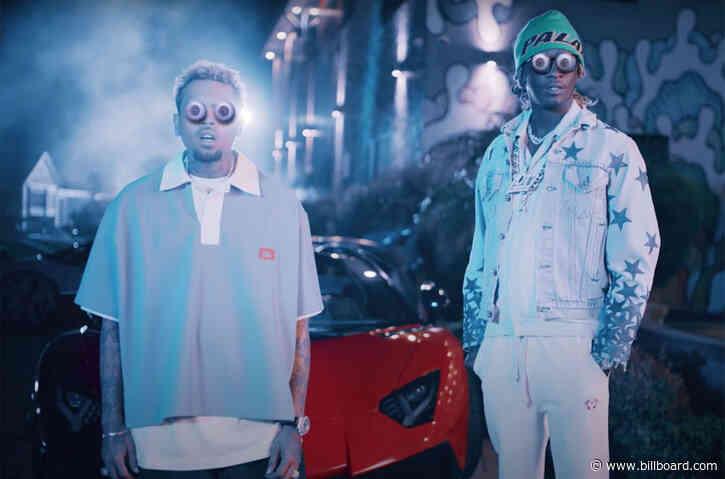 Chris Brown, Young Thug, Future, Lil Durk & Mulatto Unleash 'Go Crazy' Remix Video: Watch