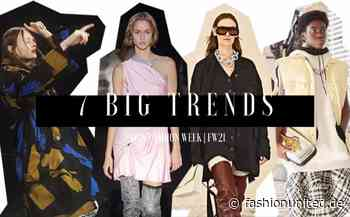 Video: 7 Big Trends From Paris Fashion Week | FW21