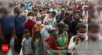 Coronavirus live updates: Maharashtra reports 63,729 new Covid cases, Delhi over 19,486 in record surge - Times of India