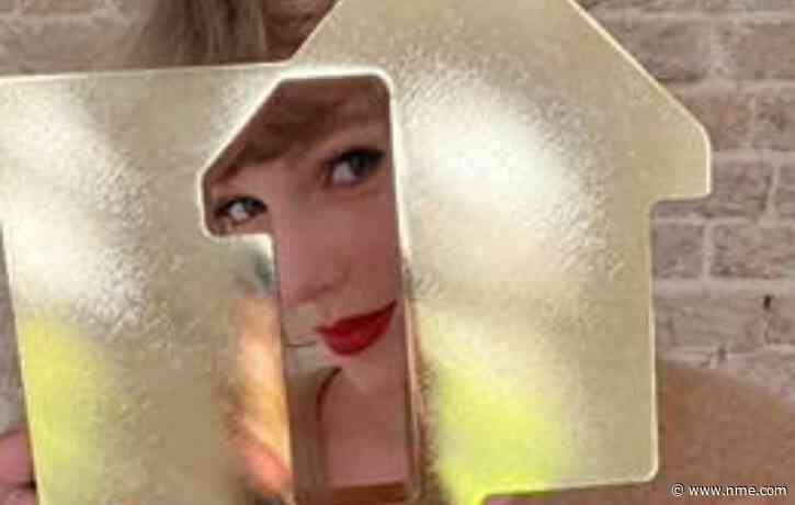 Taylor Swift makes UK chart history to score third number one album in a year