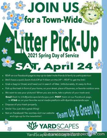 New Milford landscaper holding spring cleanup day, seeking volunteers - The Greater New Milford Spectrum
