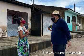 Prefeito Gilberto Gonçalves visita localidades afetadas pelas chuvas em Rio Largo - Cada Minuto