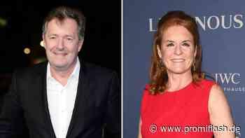 Meghan-Lästerei: Kontaktierte Sarah Ferguson Piers Morgan? - Promiflash.de