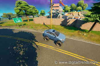 Fortnite challenge guide: Modify vehicles with off-road tires