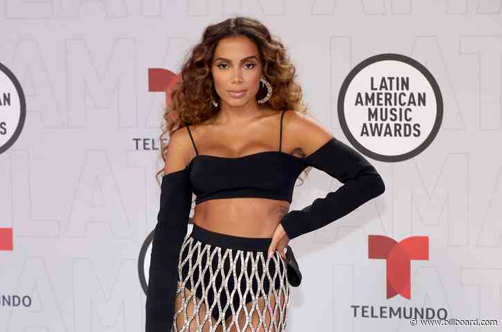 Anitta Says Upcoming Single 'Girl From Rio' Is Her 'Favorite Song Ever' at 2021 Latin AMAs: Watch