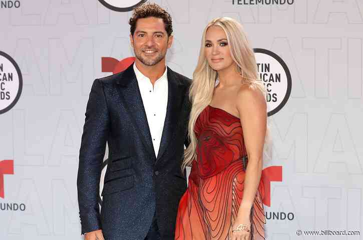 David Bisbal & Carrie Underwood Reflect on 'Tears of Gold' At 2021 Latin AMAs: Watch