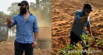 Photos: Yash spends his leisure time at his farmhouse after KGF Chapter 2 wrap up - PINKVILLA