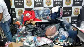 Polícia apreende milhares de peças de roupas sem nota no Campo Belo - ACidade ON