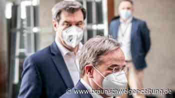 Bundestagstagswahl: Unions-Kreise: Laschet und Söder in konstruktivem Austausch