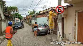 Próximo: Bairros de Itatiaia recebem serviços de sinalização viária - Diario do Vale