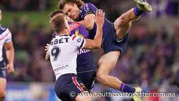 Storm thump Roosters in brutal NRL clash - South Coast Register