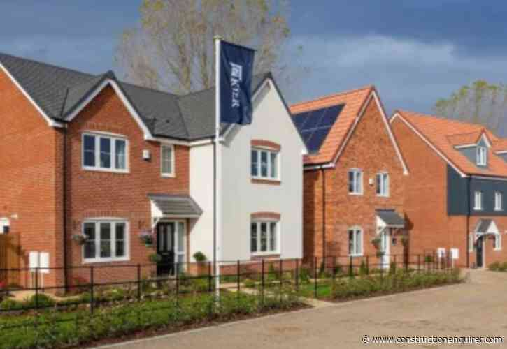 Kier agrees sale of housing business for £110m
