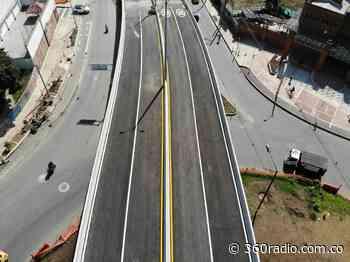 Habilitado puente del Intercambio Vial Induamérica en Itagüí - 360radio.com.co