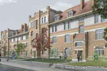 Renovatie voor sociale woonblok Pleisterstraat in Elsene - Bouwkroniek