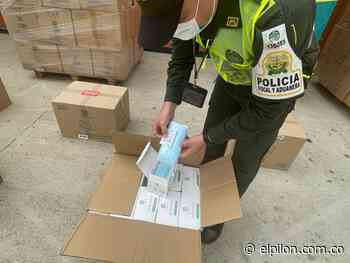 Decomisan cargamento de tapabocas en Bosconia - ElPilón.com.co