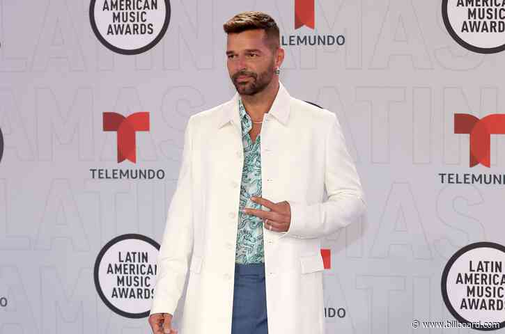 Ricky Martin Talks Coping With the Pandemic at the 2021 Latin AMAs: 'Beautiful Things Are Happening'