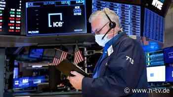 Neue Rekorde in New York: Wall Street geht beschwingt ins Wochenende