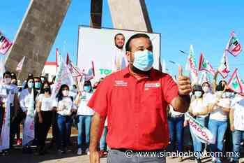 Los jóvenes de la Cruz de Elota apoyan a Tomás Amador - Sinaloahoy