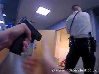Police reveal body-cam footage of police hospital shooting that left one dead
