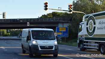 Verkehrsführung an der Auffahrt Rheine-Nord wird geändert - noz.de - Neue Osnabrücker Zeitung