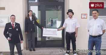 IGF Westerheim spendet dem DRK-Ortsverein Laichingen 1111 Euro - Schwäbische