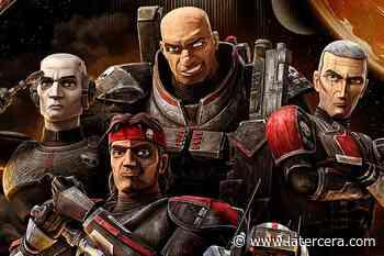 La figura del Emperador acecha a los clones en el nuevo póster de The Bad Batch - La Tercera