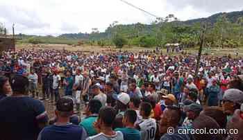 En Magüi Payan denuncian vulneraciones de Derechos Humanos - Caracol Radio