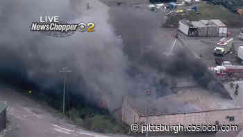 Crews On Scene Of Fire At Body Shop In Butler County