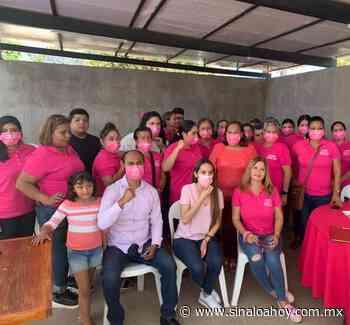 Noriely Núñez recibe el respaldo de las mujeres en El Venadillo - Sinaloahoy
