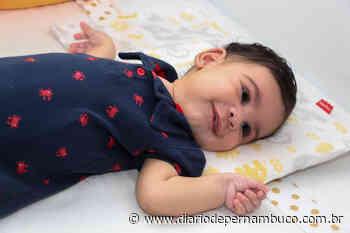 Família do Cabo de Santo Agostinho lança campanha para tratamento de bebê com síndrome rara - Diário de Pernambuco