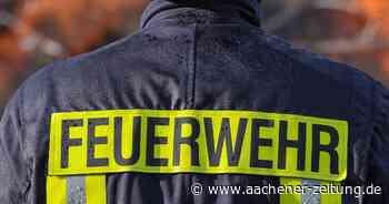 Feuermelder schlagen Alarm: Frau bei Feuer in Baesweiler schwer verletzt - Aachener Zeitung