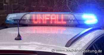 Unfall in Baesweiler: Autofahrer fährt Fußgänger an – und flüchtet von der Unfallstelle - Aachener Zeitung