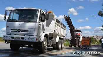 Prefeitura inicia obras de reconstrução da rodovia Carmem Duarte, em Nova Serrana - G1