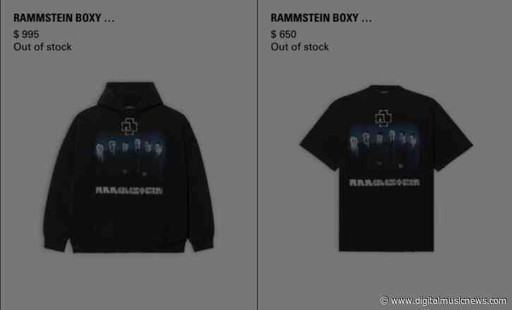 Rammstein Selling $1,000 Hoodies and More – Is Luxury Merch a Thing Now?