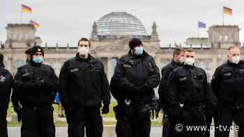 """""""Absolut nicht hinnehmbar"""": Lambrecht fordert hartes Eingreifen bei Corona-Demos"""