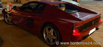 Ferrari rubata a Cassano, la polizia di Bari la recupera a Sannicandro - Borderline24 - Il giornale di Bari
