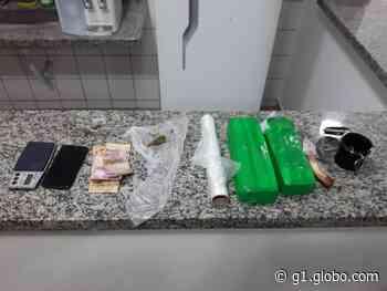 Homem é preso por tráfico de drogas em Taquarituba - G1