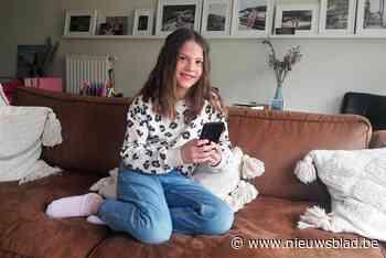 Renée (10) speelt titelrol in 'smartphonethriller'