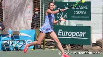 Tennis (Ladies Open Calvi - Eaux de Zilia) : Clothilde De Bernardi a cédé face à l'Italienne Jessica Pieri - Corse-Matin