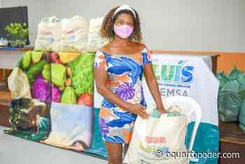 Prefeitura entrega cestas de alimentos a famílias carentes da região do Itaqui-Bacanga - O Quarto Poder