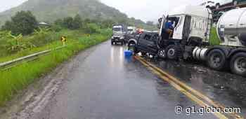 Acidente entre caminhonete e caminhão deixa uma pessoa morta em Joaquim Gomes, AL - G1