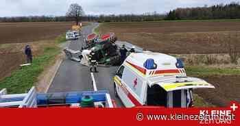 Diesel floss aus: Lenker (41) erlitt bei Unfall mit Traktor Kopfverletzung - Kleine Zeitung