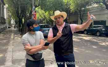 No tomaré 'moche' de la delincuencia para mantener la paz: Adrián Esper - El Sol de San Luis