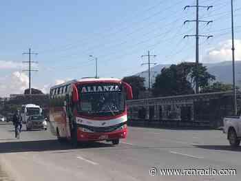 Ordenan restablecer servicio de transporte público en vereda de Suesca, Cundinamarca - RCN Radio