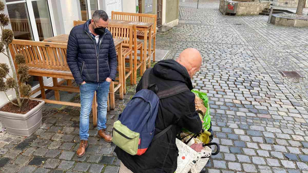 Landsberg: Der Flaschensammler mit der sozialen Ader