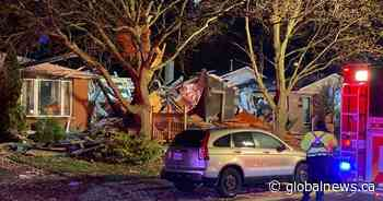 House on Hamilton's west mountain destroyed after explosion