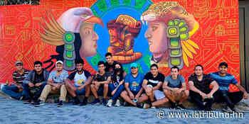 Colectivo ART 0816 plasma bellos murales en Sabanagrande - La Tribuna.hn